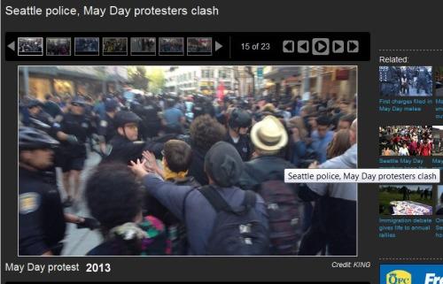 2013_05 01 Seattle Protest anti-COPitalist