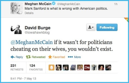 2013_05 07 Iowahawk and Meghan McCain