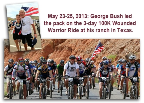 2013_05 23-25 Dubya hosts another Wounded Warrior 100K bike event