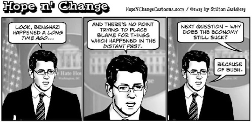 2013_05 Hope n Change on Benghazi was a long time ago