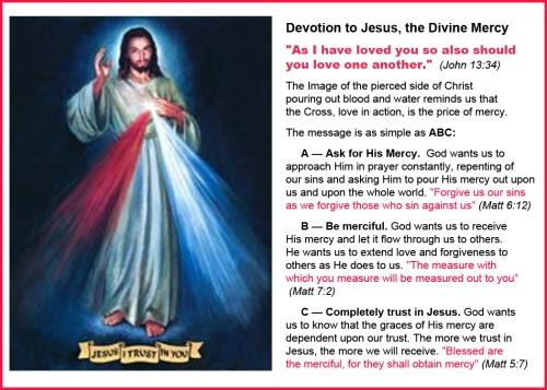 Divine Mercy Devotion