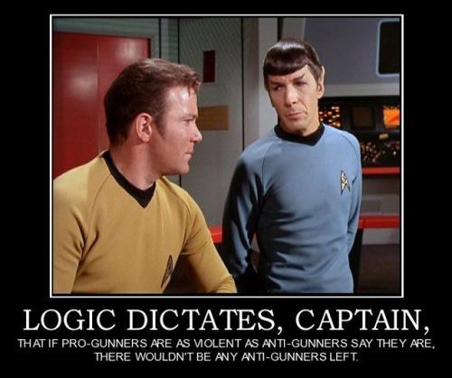 GUN CONTROL Logic dictates