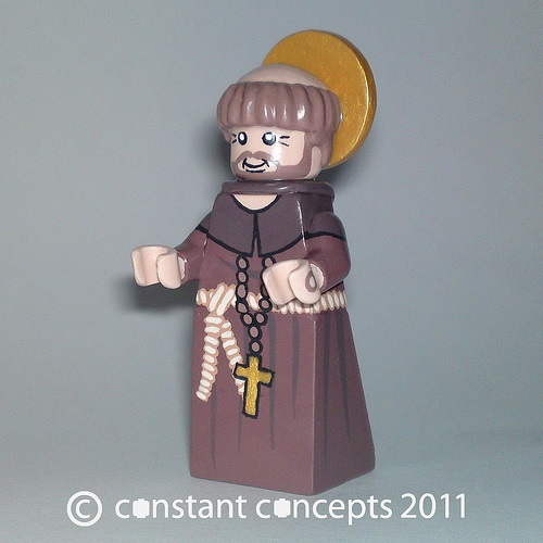 LEGO St. Francis of Assisi