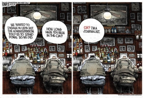 Media stand down on Benghazi