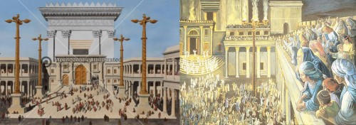Sukkot Illumination of the Temple