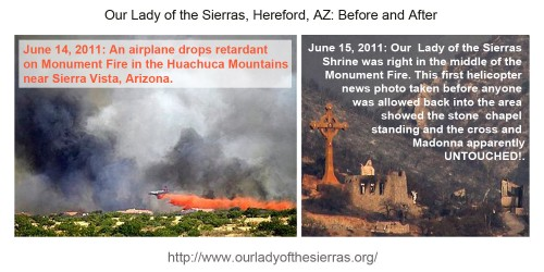 01 Sierra Shrine - Before After Fire