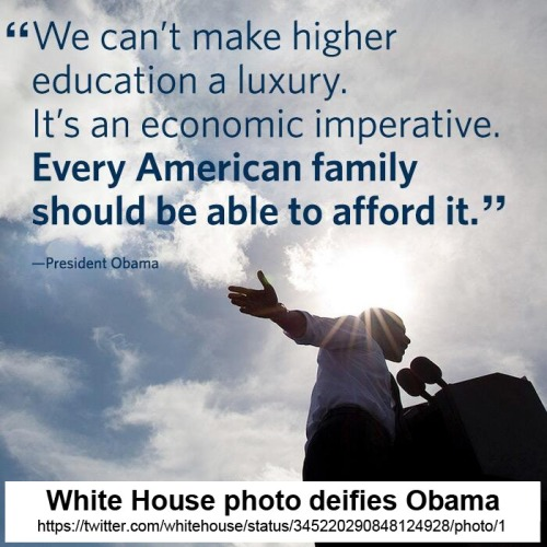 2013_06 WH photo deifies Obama