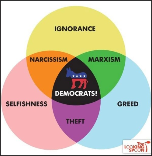 Democrat Venn Diagram