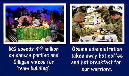 IRS vs Military