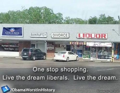 Live the dream liberals