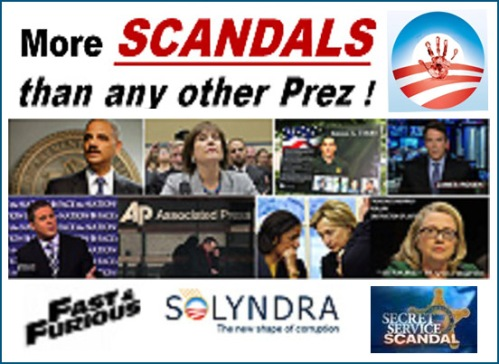 Most scandals president