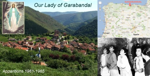 Three great supernatural events were prophesied at Garabandal.