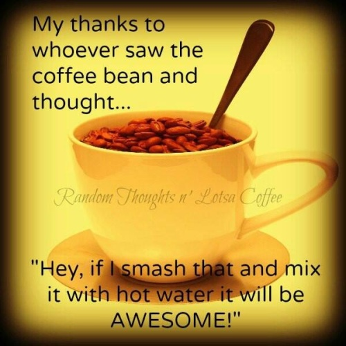 Thank you for coffee