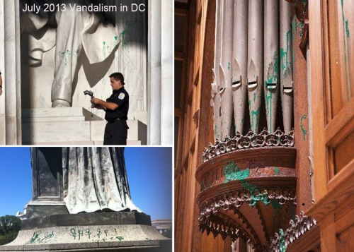 2013 Vandalism in DC