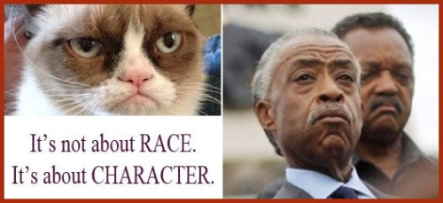 2013_06 25 It's not about race It's about character