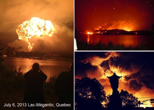 2013_07 06 Lac-Megantic in flames