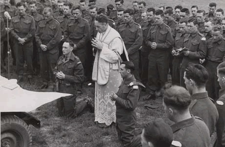 Catholic Mass in War
