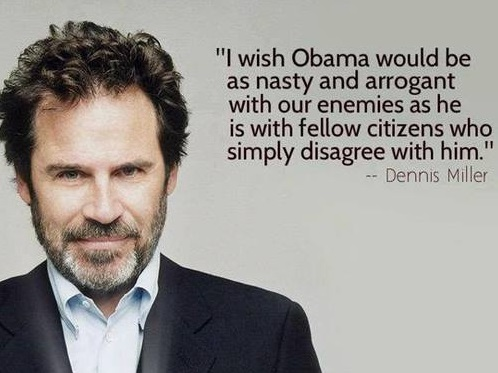 Dennis Miller makes sense