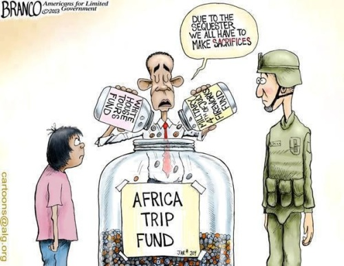 Obama hypocrisy on sequester