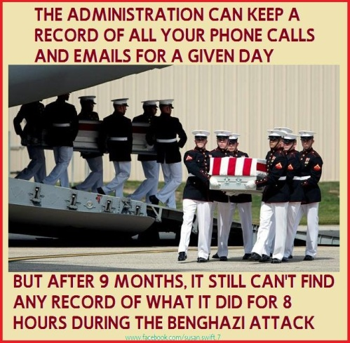 Obama Still no word what BHO did during Benghazi