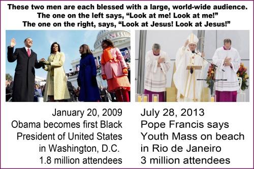 Obama vs Pope Francis