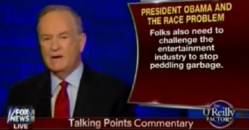O'Reilly on the cause of the race problem c