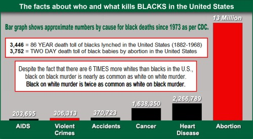 Overwhelmingly, it is blacks who kill blacks