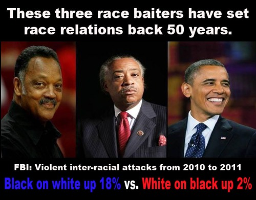 Setting race relations back