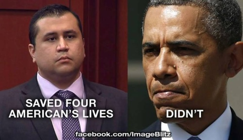 Zimmerman vs Obama
