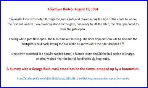 1994_08 19 Bush Rodeo Clown