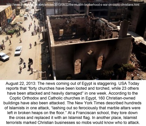 2013_08 22 Violence against Egyptian Christians