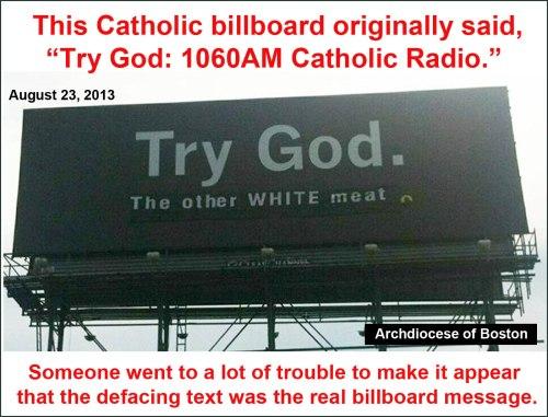 2013_08 Try God billboard defaced