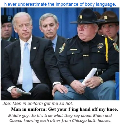 Biden body language