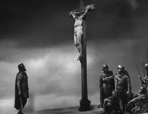 Centurion at cross