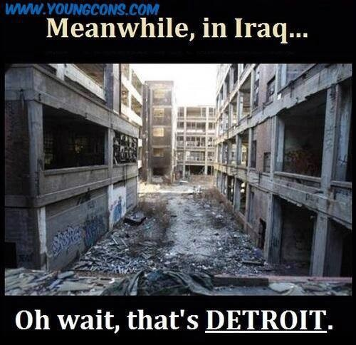 Meanwhile in Detroit