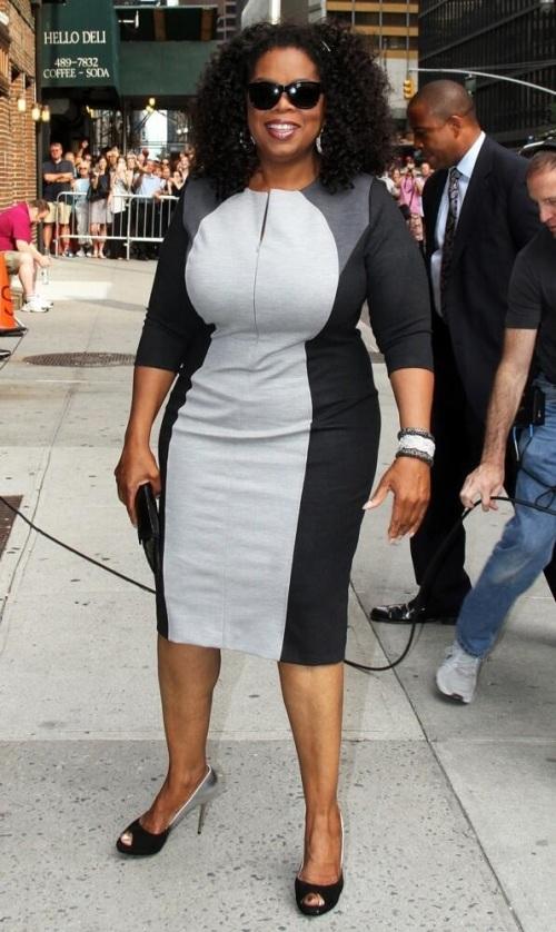 Oprah's penis dress