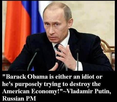 Putin says re Obama