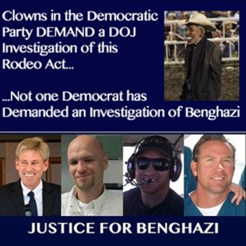 Rodeo not Benghazi