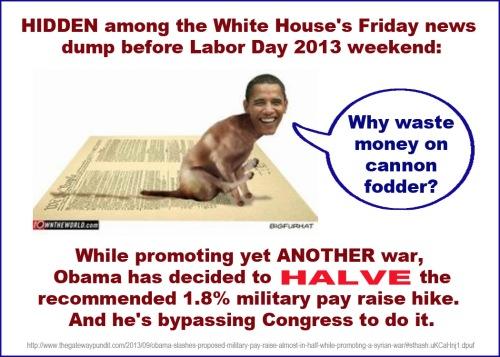 2013_08 30 Obama halves military pay raise