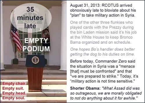 2013_08 31 Empty podium