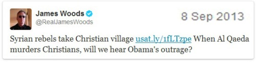 2013_09 08 JW tweet = Syrian rebels take Christian village
