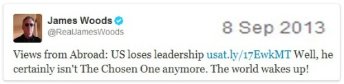 2013_09 08 JW tweet = US loses leadership
