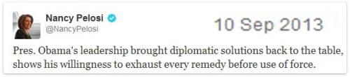 2013_09 10 Nancy Pelosi spins madly