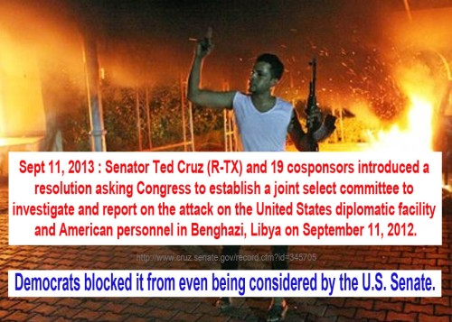 2013_09 11 Dems say no to investigating Benghazi