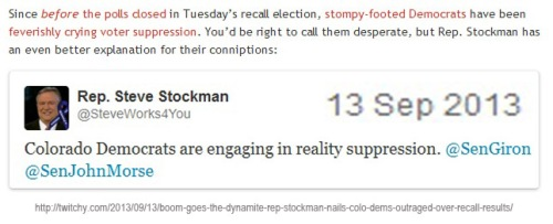 2013_09 13 Reality suppression