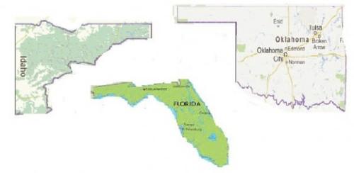 3 gun shaped states