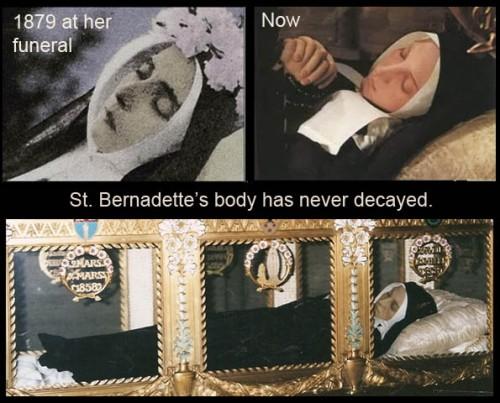 Bernadette dead