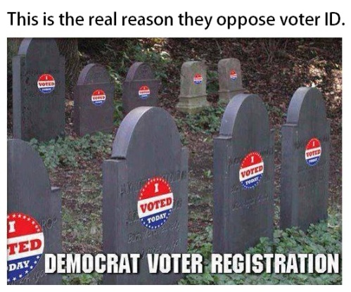 Democrats vote after death too
