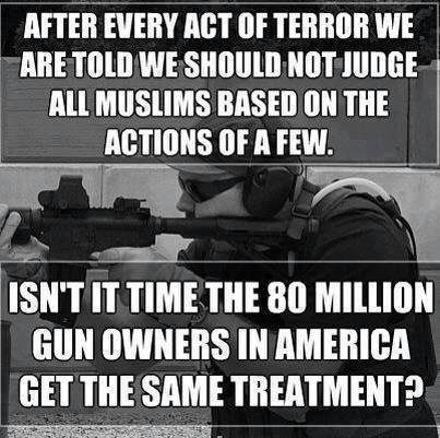 Don't judge gun owners