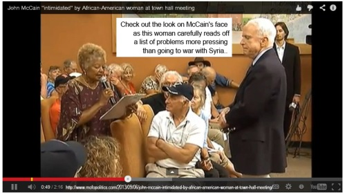 John McCain does NOT like this woman